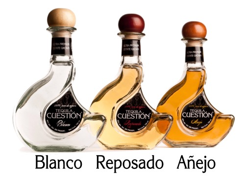 Cuestion Bottles - Blanco, Repesado, Anejo