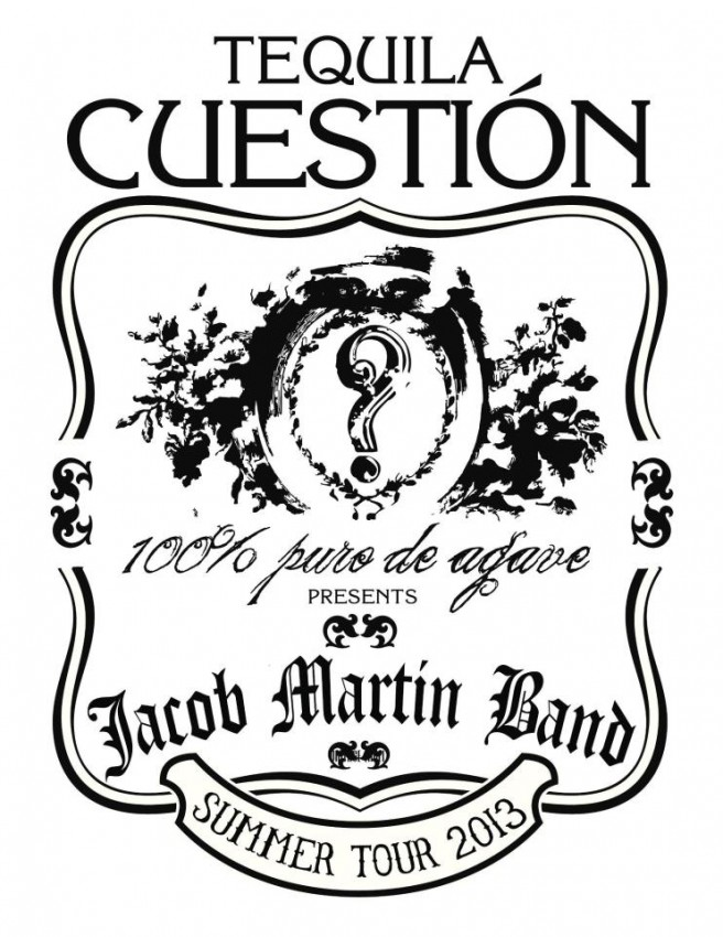 Cuestion and the Jacob Martin Band summer tour 2013